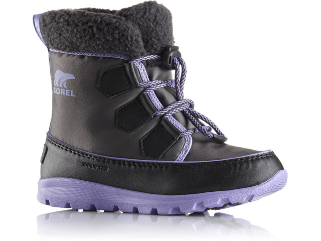Sorel Whitney Carnival Boots Barn dark grey/paisley purple